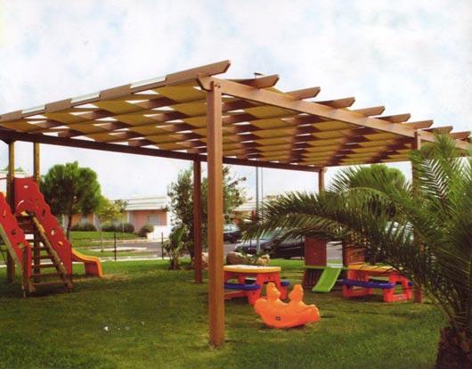 Strutture legno artetenda by arteplast